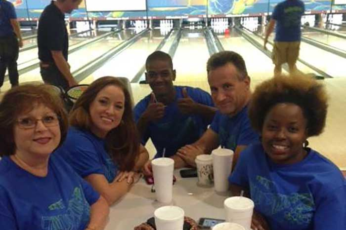 AAA Bowling Night Out Event