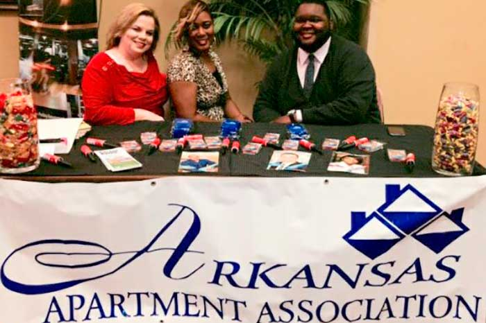 Arkansas Apartment Association Booth